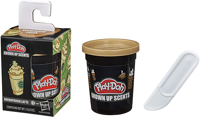 play-doh grown up scents overpriced latte