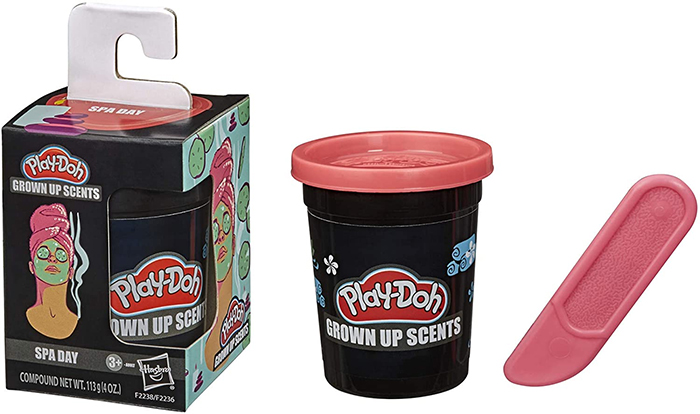 play-doh grown up scents spa day floral