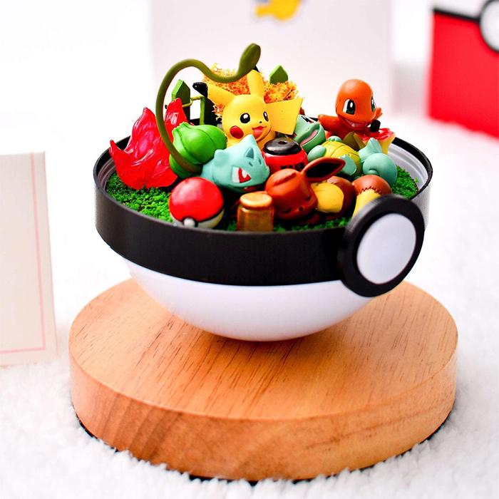 pokemon terrarium toys inside