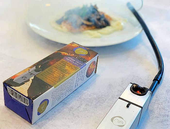 portable smoke infuser box