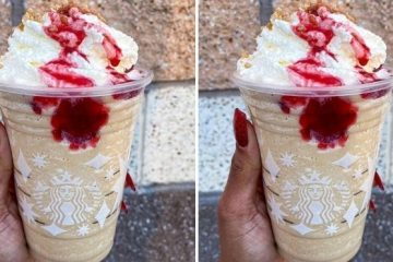 raspberry cheesecake frappuccino