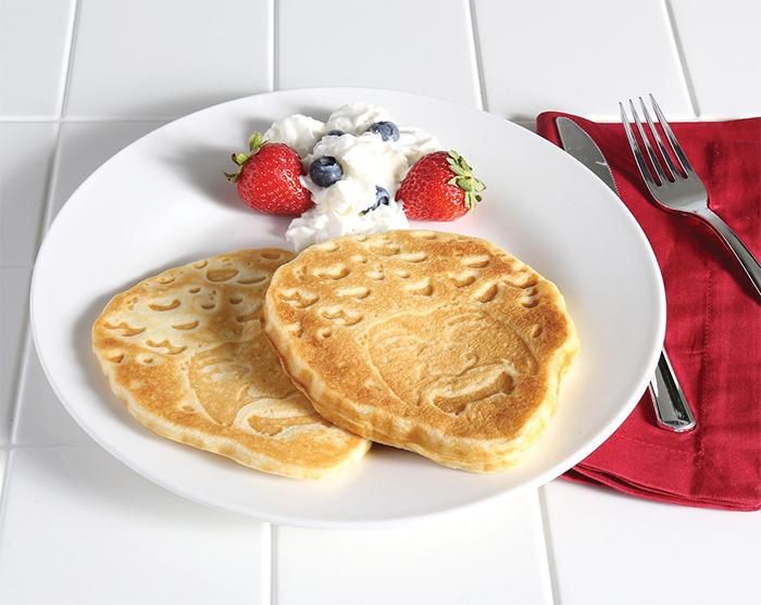 ross-shaped waffles unique