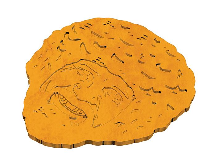 ross-shaped waffles