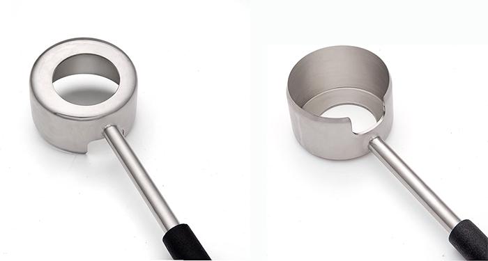 round blade husk opener