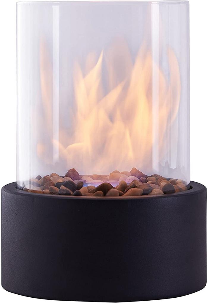 smokeless fire lantern
