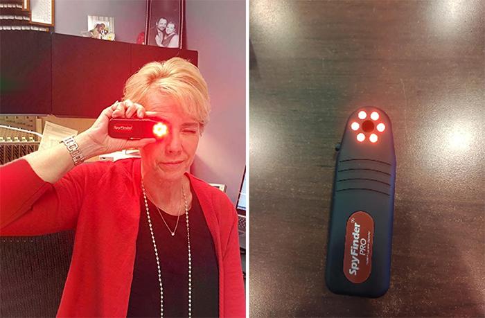 spyfinder hidden spy camera detector