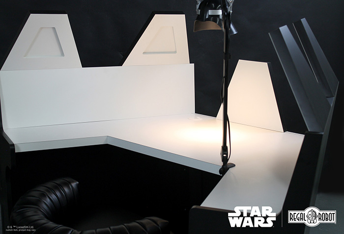 star wars themed work table