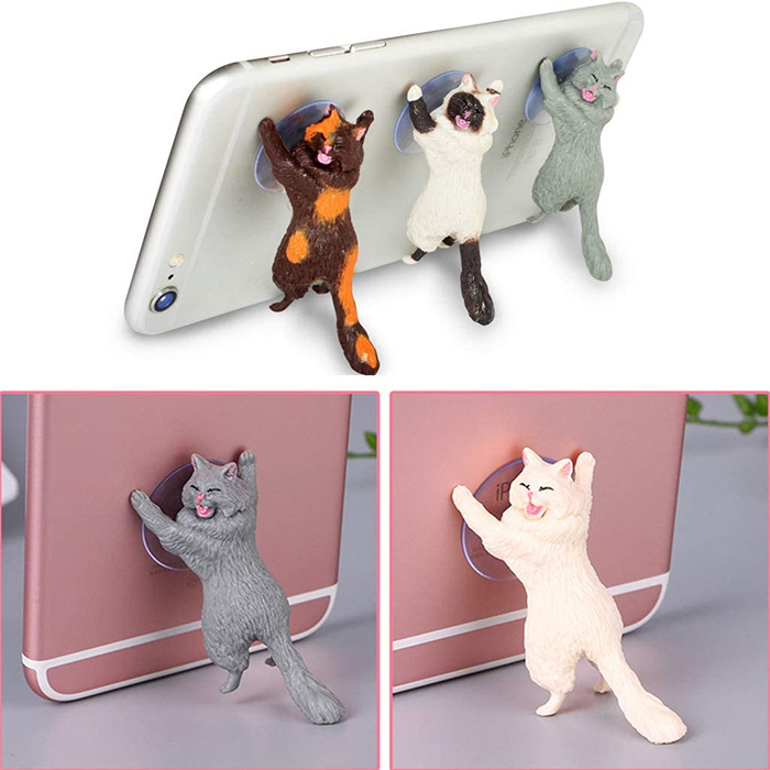 stick-on phone stand resin