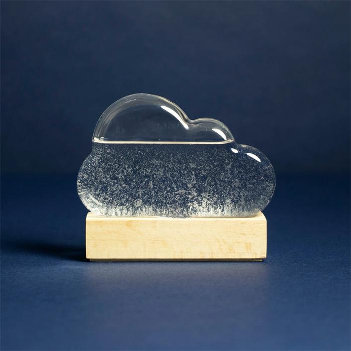 storm glass crystallization