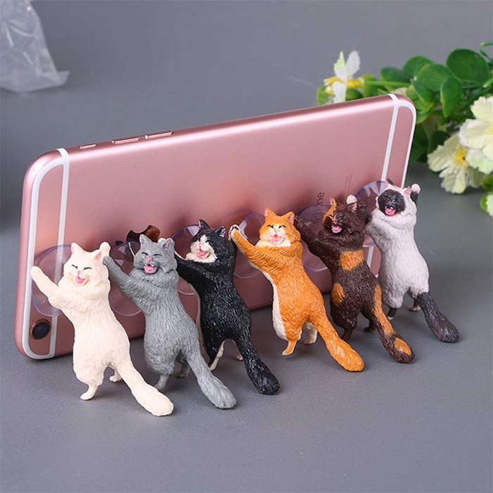 suction cat phone holders