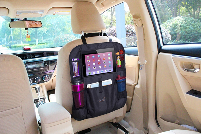 tablet holder vehicle seat