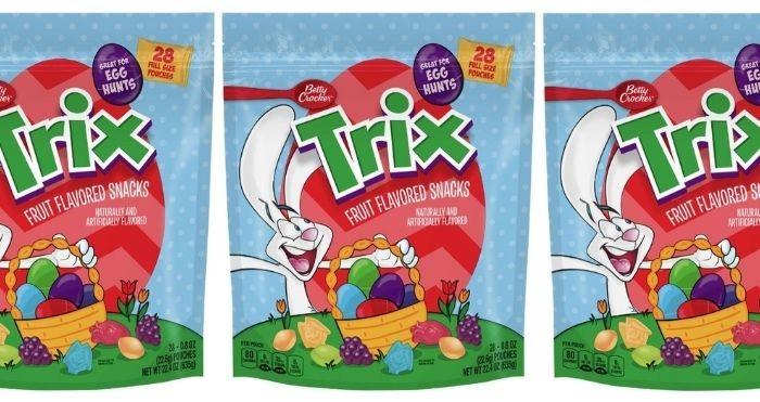 Trix Fruit-Flavored Snacks