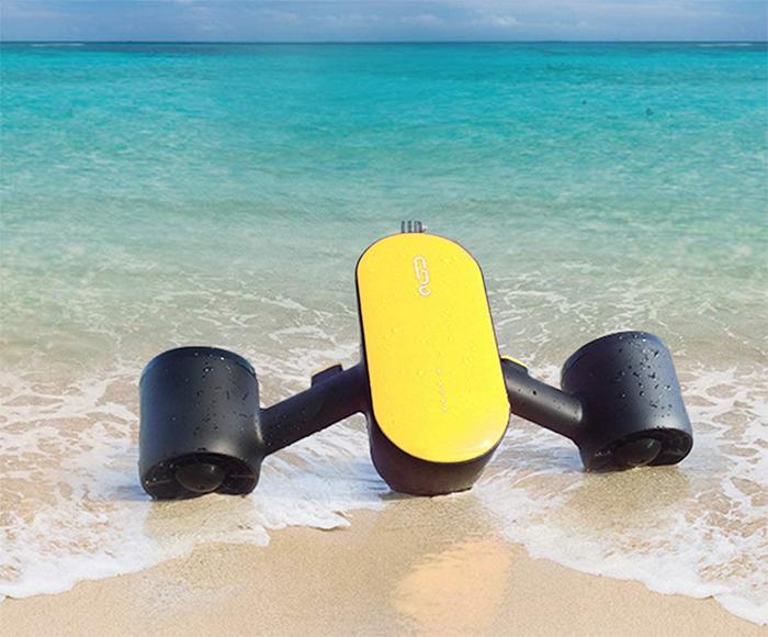 underwater scooter streamline design
