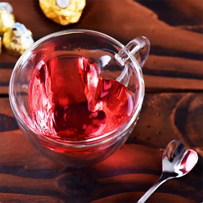 unique teacup clear glass