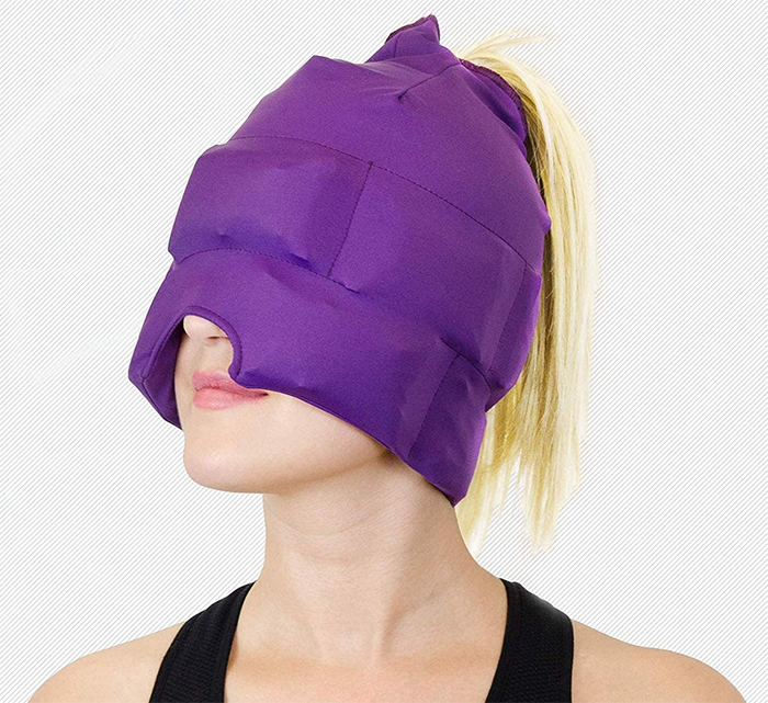 wearable cold compress mask
