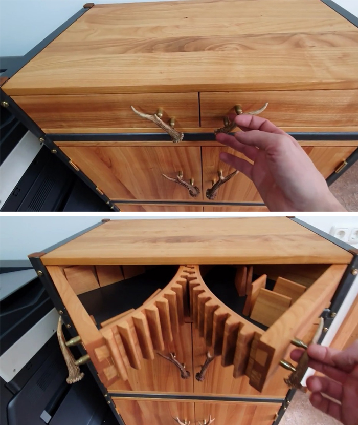 woodworking skills geared drawers