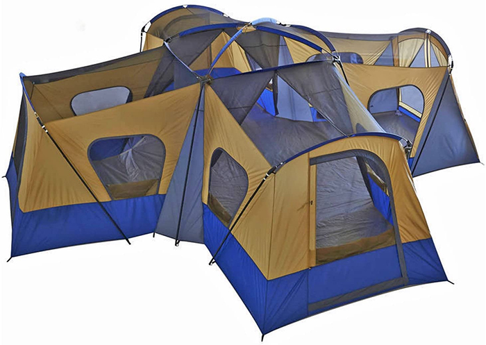 14-person cabin tent camping