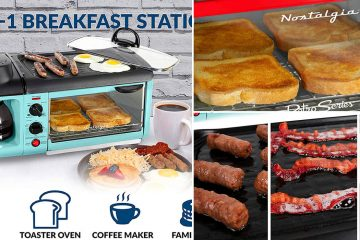 3 in 1 Breakfast station