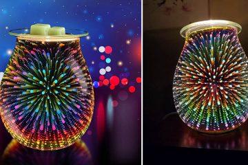 3d fireworks wax warmer