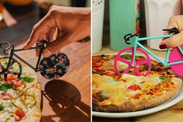 Bicycle-Shaped Pizza cutter
