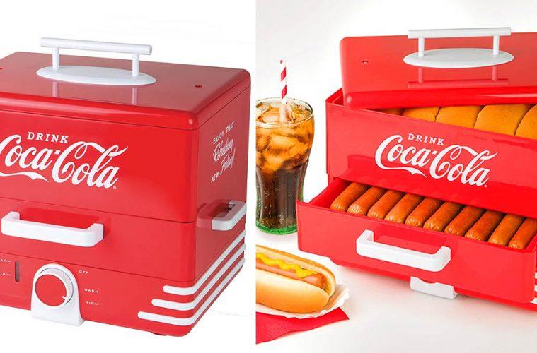 Coca-Cola Hot Dog Steamer And Bun warmer