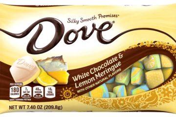Dove White Chocolate & Lemon meringue