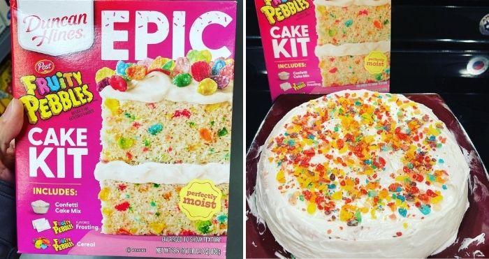 Fruity Pebbles Cake Kit