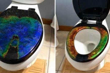 Mood Ring Toilet Seat