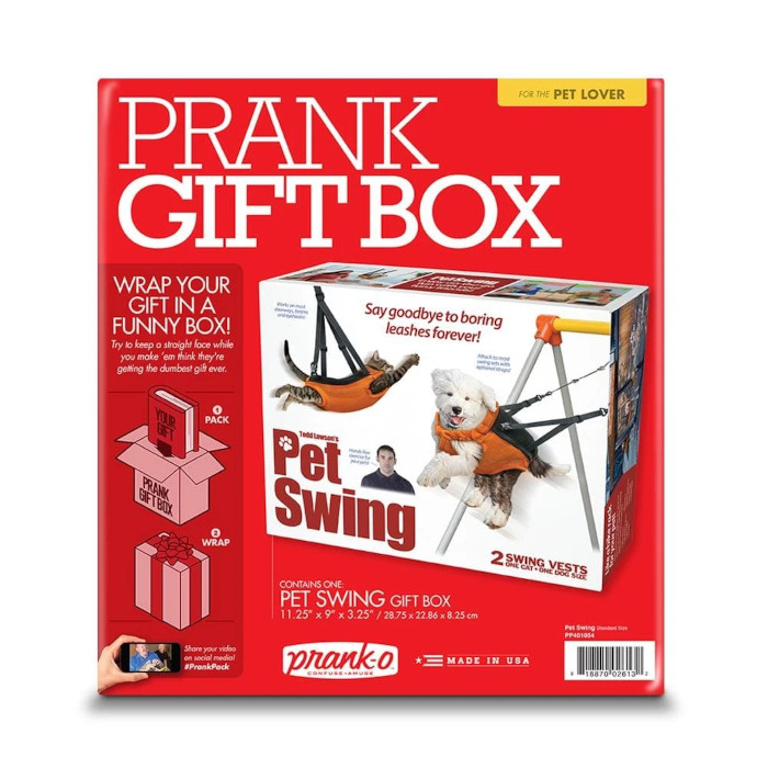 Pet Swing Prank Box Packaging