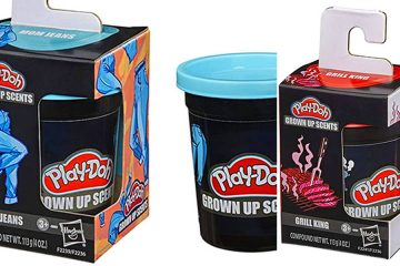 Play-Doh Grown Up scents