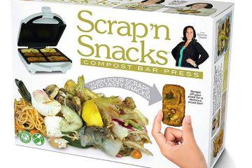 Scrap'n Snacks Compost Bar press