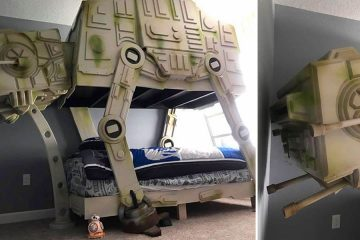 Star Wars AT-AT Walker bed