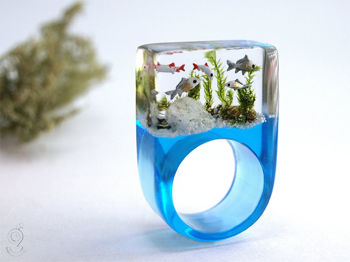 aquarium ring resin