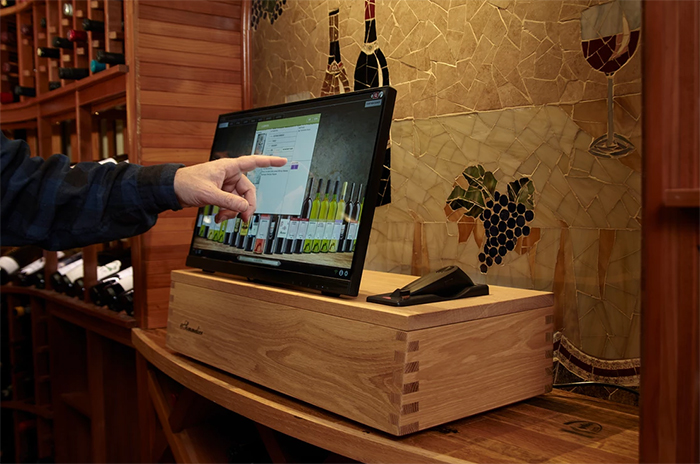 automatic wine cellar management system