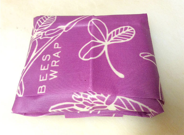 beeswax food wrap pouch