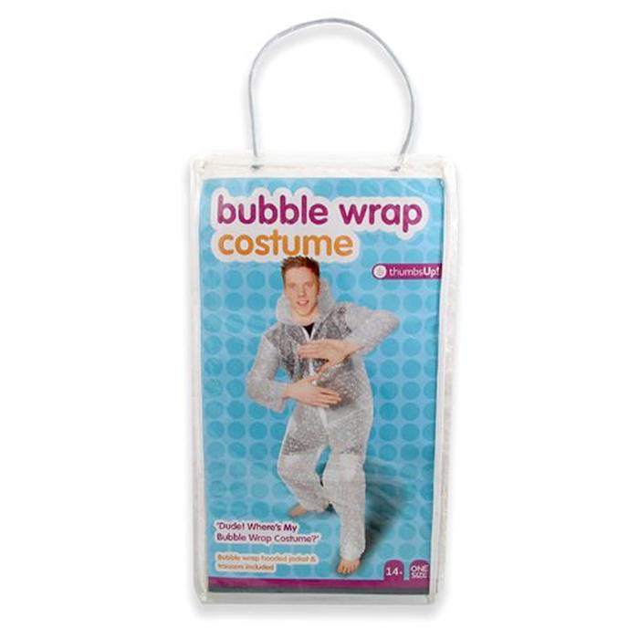 bubble wrap suit costume