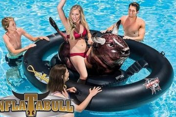 bull ride-on float