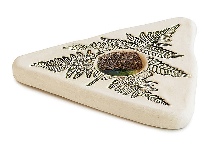 butterfly puddler stoneware sand