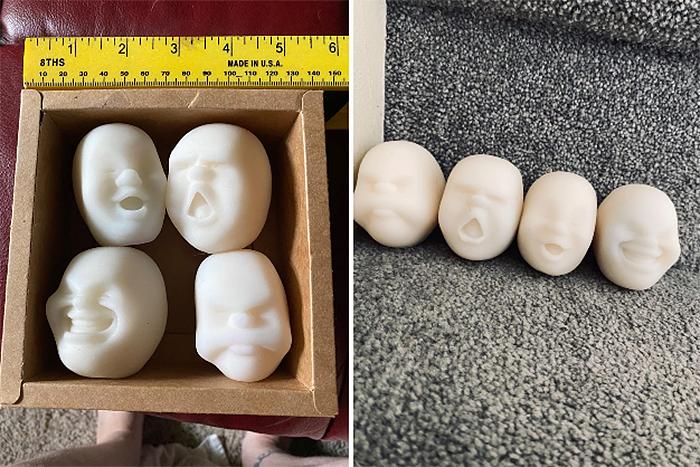 cao maru white anti-stress toys