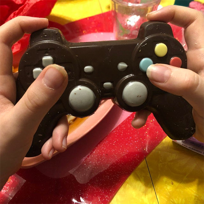 chocolate game controller realistic