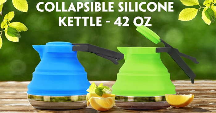 collapsible camping kettle colors