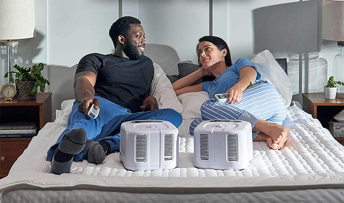 cooling heating mattress pad we sizing