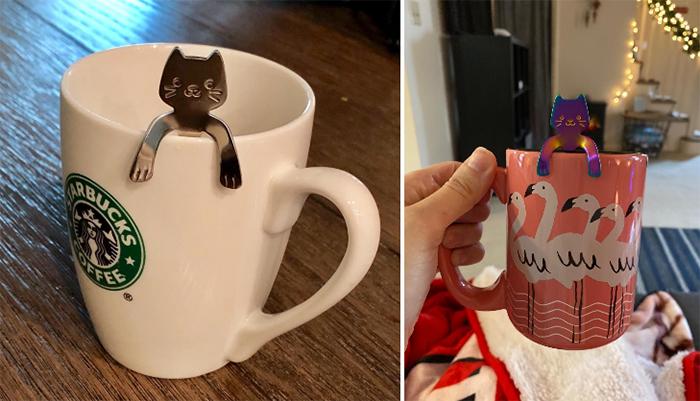 cute cat spoons