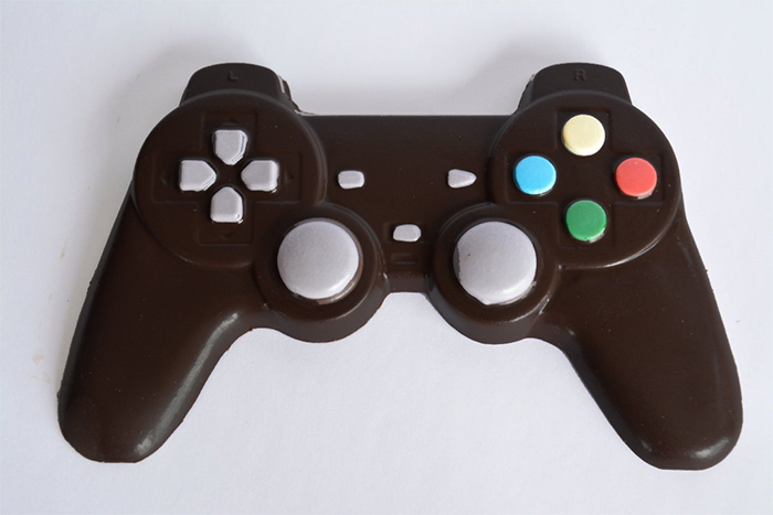 dark chocolate game controller