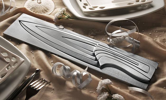 deglon meeting knife set and block