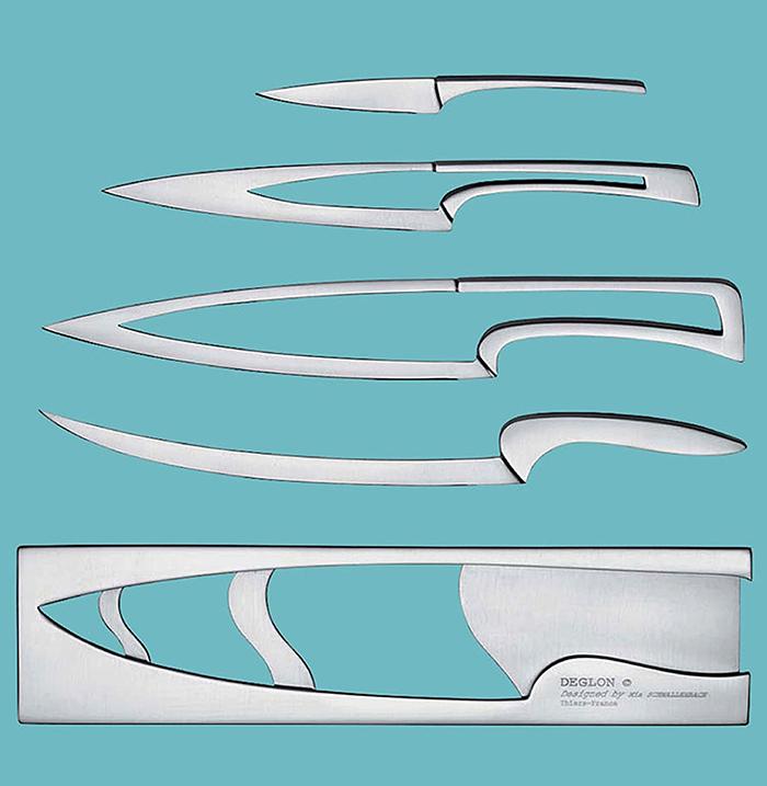 deglon stainless steel meeting knife set