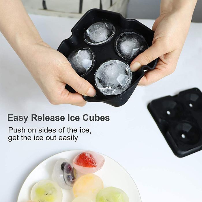 diamond-shaped ice cube tray easy release
