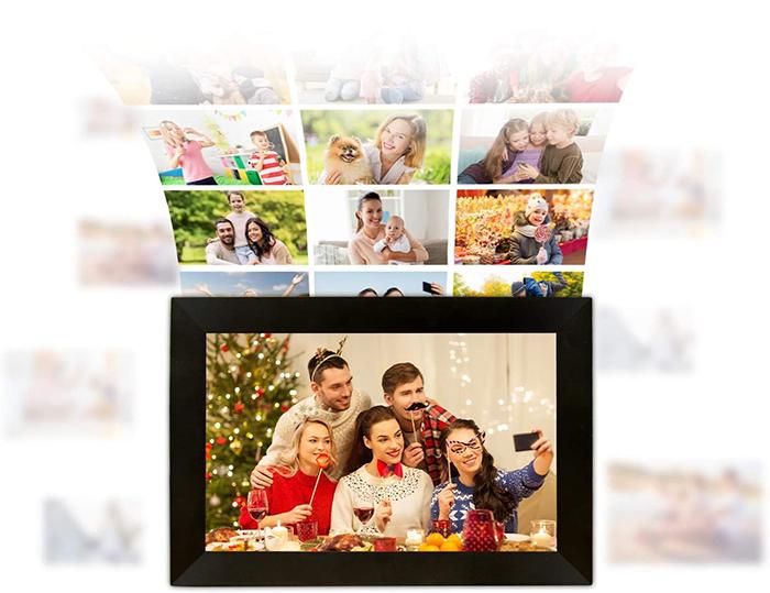 digital picture frame slideshow