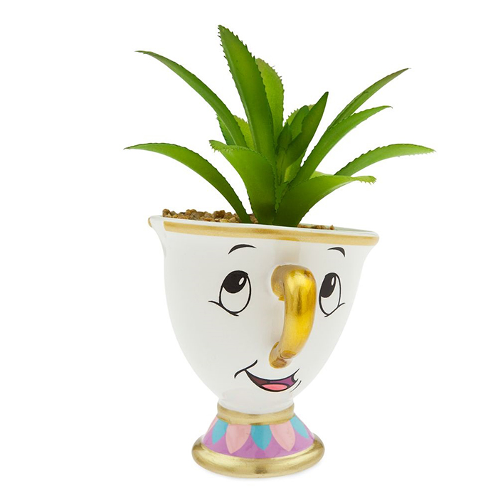disney beauty and the beast chip succulent