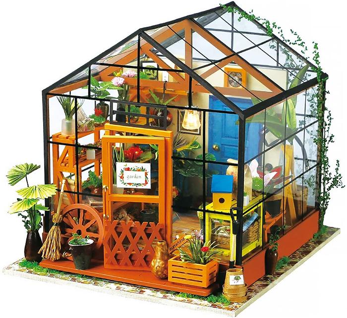 diy mini greenhouse kit